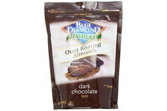Blue Diamond Oven Roasted Almonds, Dark Chocolate, 410ml container