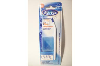Active Oral Interdental Brush