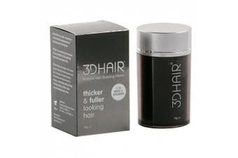 (Light Brown) - 3D Hair Loss Fibres for Thinning Hair Light Brown 10g