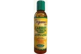 Africa Best ORGANICS CARROT Tea Tree Oil Therapy - 180ml bottle
