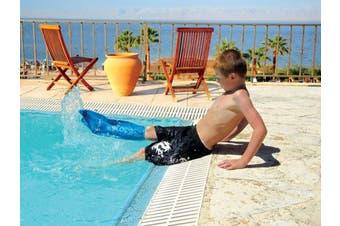 (Child Short Leg, Medium) - Bloccs Child Medium Short Leg Waterproof Cast Cover 4-9 years