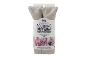 Aroma Home Body Wrap Microwavable Wheat and Lavender Seed Grey