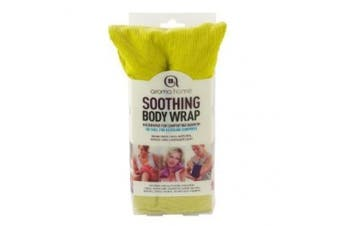 Aroma Home Body Wrap Microwavable Wheat and Lavender Seed Lime