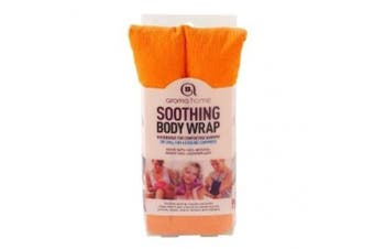 Aroma Home Body Wrap Microwavable Wheat and Lavender Seed Orange