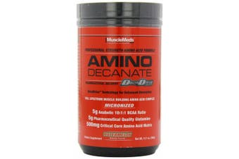 (Watermelon, 360 g) - MuscleMeds Amino Decanate Watermelon Powder 360g