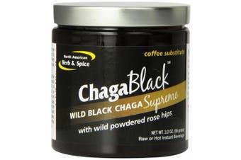 (90ml) - North American Herb & Spice Co., ChagaBlack, Coffee Substitute, 90ml (90 g)