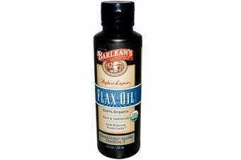 Barlean's, Flaxe Oil, 100% Organic, 8 fl oz (236 ml)