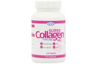 AHS Super Collagen Plus C Tablets - Pack of 120 Tablets