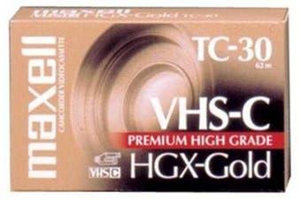 High Grade VHS-C Videotape Cassette 30 Minutes High Grade VHS-C Videotape Cassette, 30 Minutes