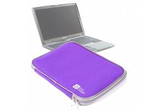 Durable Impact Resistant Purple Neoprene Laptop Pouch For Dell XPS 13 Ultrabook, Vostro 34cm & Latitude D600