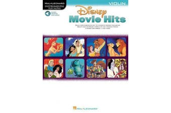 Disney Movie Hits for Violin: Play Along with a Full Symphony Orchestra!