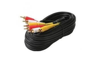 Black Point Products BA-047 Gold St. Triple Dubbing Cables, 3.7m