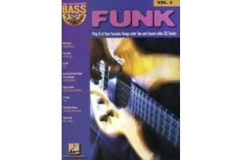 BASS PLAY ALONG VOLUME 5 FUNK BASS GUITAR BK/CD (Hal Leonard Bass Play-Along)
