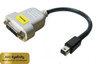 Accell B087B-004B UltraAV Mini DisplayPort/DVI-D Single Link Adapter (25cm )