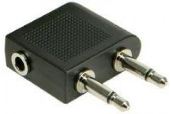 Avsl-aeroplane Headphone Socket Adaptor