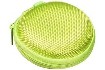 (lime green) - Earphones Plus EP-CASELIME Earphone Case lime green