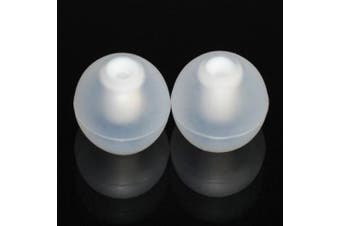(MEDIUM) - 8 Medium Replacement Silicone EARBUD Tips for Apple ipod in-ear MA850G/A Earphones