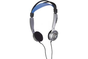 (Silver) - Koss KTXPRO1 Pulse Stereo Headphones for iPod, iPhone, MP3 and Smartphone - Silver
