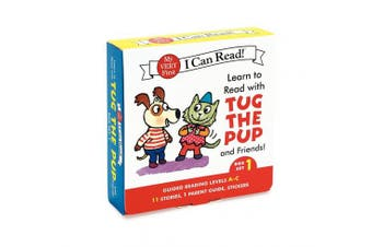 Learn to Read with Tug the Pup and Friends! Box Set 1: Levels Included: A-C (My Very First I Can Read!)