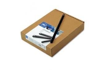 (Navy) - GBC CombBind Binding Spines, 1.3cm Spine Diameter, Navy, 85 Sheet Capacity, 100 Spines (4012485)