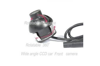 BW® Front Car Camera 360 Degree Eyeball CCD Waterproof Front Car Camera with Wide Angle