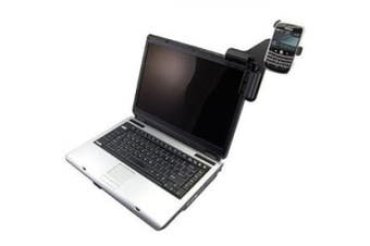 Amzer Laptop Mobile Connect with Custom Holder for BlackBerry Bold 9000 - Black