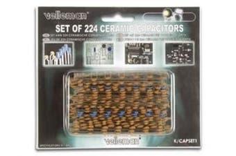 Velleman K/CAP1 CERAMIC CAPACITOR SET
