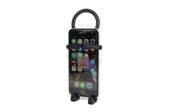 (Black) - Bondi Is a Unique Flexible Cell Phone Holder Made of High Quality Silicon - Black