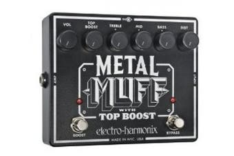 Electro-Harmonix Metal Muff Distortion Pedal