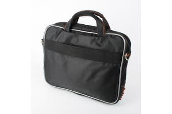 Black And Orange Portable DVD Player Shoulder Bag For Philips PD9030/37 & PD9000/37 23cm Portable DVD Players