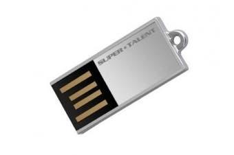 (16 GB, Silver) - Super Talent Pico-C 16 GB USB 2.0 Flash Drive STU16GPCS (Silver)