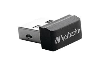 (16 GB, USB 2.0) - Verbatim Store 'n' Stay 16 GB USB 2.0 Flash Drive 97464