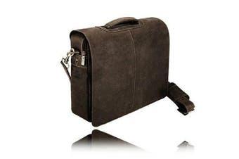 Visconti . Quality 18760 Messenger Bag / Computer Laptop Handbag / Leather Bag