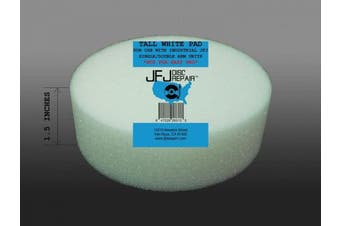 JFJ Disc Repair JFJWHI Pad for JFJ Single/Double Arm Machines - White