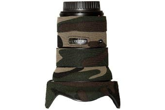 (forest green camo) - LensCoat LC16352FG Canon 16-35 II 2.8 Lens Cover (Forest Green Camo)
