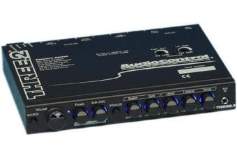 THREE.2 - AudioControl In Dash Pre-Amp Equaliser/Crossover w/ Dual Auxiliary Inputs