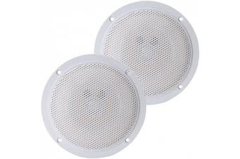 Pyramid MDC6 13cm Marine 100 Watts Dual Cone Waterproof Stereo Speakers