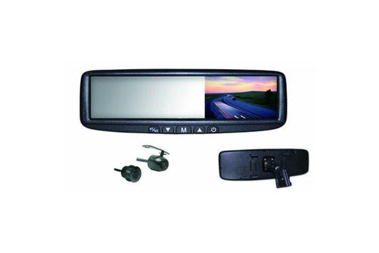 BOYO VTB44MC 11cm Digital LCD Rear View Mirror Monitor and Camera Combination