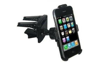 Amzer Swivelling Air Vent Mount for iPhone 1G and 3G/3GS - Black