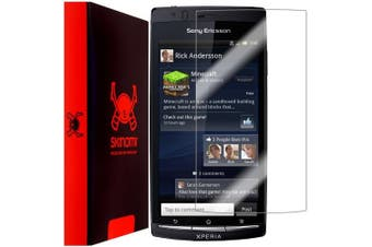 Skinomi Screen Protector Compatible with Sony Ericsson Xperia Arc S Clear TechSkin TPU Anti-Bubble HD Film