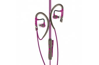 Klipsch Image A5i All Sport In-Ear Headphones, Magenta (Discontinued by Manufacturer)