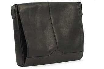 (One Size, Black) - Claire Chase Messenger Satchel, Black, One Size