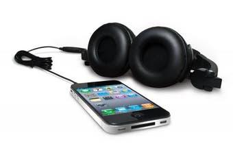 Vivitar Speaker Headphones - Black (HPS-1000-50)