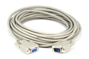 Monoprice 25ft DB 9 M/F Moulded Cable