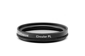 (62mm) - Polaroid Optics Multi-Coated Circular Polarizer Filter [CPL] For 'On Location' Colour Saturation, Contrast & Reflection Control, 62 mm