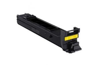 Do It Wiser Compatible Toner Cartridge Replacement For Konica Minolta Bizhub C20 - C20P - C20x - C20px - TN318Y A0DK233 (Yellow - 8,000 Pages)