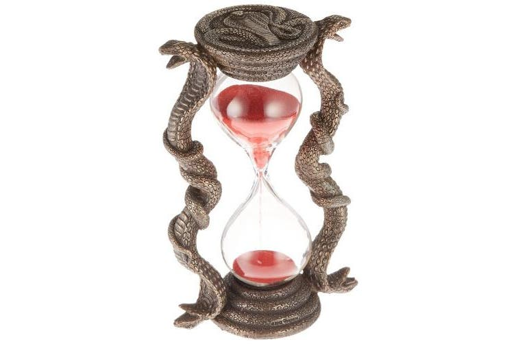 (Single) - Design Toscano Egyptian Cobra Goddess Sandtimer Hourglass