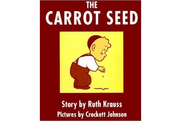 The Carrot Seed Board Book [Board Book]