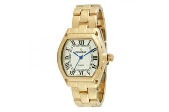 (Gold) - Women's Roman Numeral Bracelet Watch in Gold