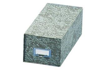 (6 x 9) - Globe-Weis(R) 90% Recycled Index Card Storage Case, 15cm . x 23cm ., Green